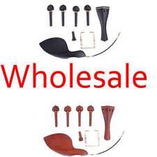 10 Sets Violin Parts Available in Ebony and Boxwood