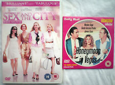 2 Sarah Jessica Parker DVDs  Sex And The City  The Movie  & Honeymoon in Vegas