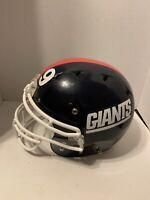 Schutt Dna Recruit Medium Football Helmet NY Giants See Description Notes