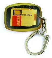 Porte-clés keychain ♦ BOURBON FIXE BISCOTTES CLEMENT