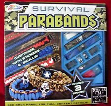 Paracord Parabands Bracelet Kit Parachute Cords Project Survival Customize NEW