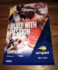 2019 US OPEN SUBWAY POSTER Rafael Nadal RARE