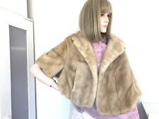 Luxury  Wedding Mink Stole Cape Shawl One Size