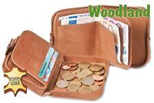 Woodland®Schüttelbörse mitGeldscheinfach aus naturbelassenem weichem Büffelleder