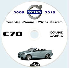 VOLVO C70 2a gen.(P1) Technical Manual and Wiring Diagram,2006/2013