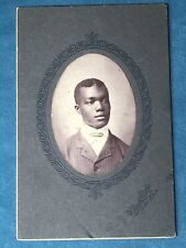 Mobile, Alabama, Mobile, Ala, Studious African American Man, Cabinet Card Photo