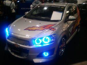 ORACLE Lighting HALOKit For Sonic 2012 2013 2014 2015 2016 Blue LED 2640-002