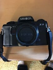 Minolta X-9 35mm Semi Automatic Camera With Accessories