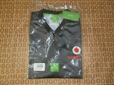 New Hugo Boss Mclaren Mercedes rare team issue only grey track side top Large L
