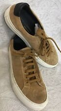 Woman By Common Projects Carmel Suede Lace Up Sneakers Size 37