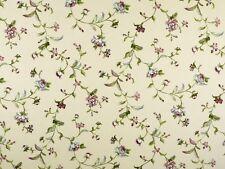 attraktiver Dekostoff Blumen Multicolor 140cm