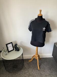 Women's Adidas Gymwear Top Size 16 - Cropped - Black