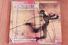Krzysztof Penderecki - Concertos Clarinette - Michel Lethiec - CD Arion