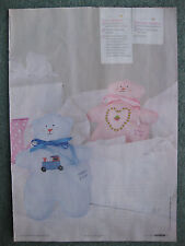 Personalised Baby 'Toys to Treasure' pattern, Cross stitch magazine chart only