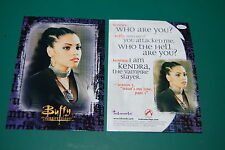 RARE BUFFY KENDRA CARD-Bianca Lawson Extremely GET it Autographed! Inkworks
