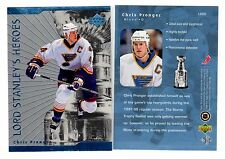 1X CHRIS PRONGER 1998 99 Upper Deck #LS20 LORD STANLEY HEROES INSERT Lots Availa