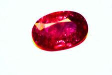 RED DIAMOND RUBY PIEGON BLOOD RED UNHEAT 3CTS PLUS
