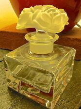 RARE ET BEAU flacon parfum cristal Lancel