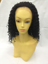 Premium Fibre Curly Lace front Edge Wig.Heat Resistant.Curl It Like Natural Hair
