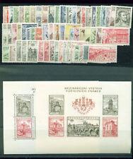 CSSR, 1955 kpl. Jahrgang **, (9820)
