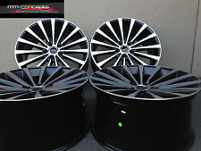 19 Zoll Borbet BLX Concave Felgen 5x112 Gutachten ABE für VW Passat 3B 3BG CC 36