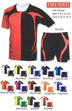 16 Soccer Team Jerseys Shirts Uniforms CEN1236  Wholesale School $19/kit.