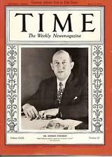 Time Magazine 1937, June 21         Dr. Morris Fishbein