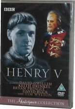 Henry V BBC Shakespeare Collection DVD - New Sealed