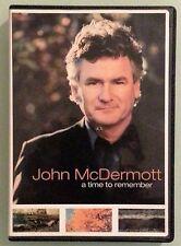 john mcdermott   A TIME TO REMEMBER   DVD  includes insert