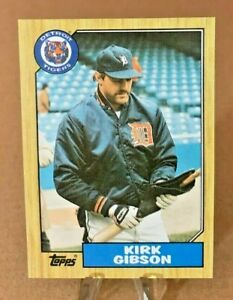1987 Topps ⚾ KIRK GIBSON #765, Detroit Tigers  -  MINT