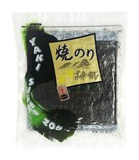 50 Full Sheet Restaurant Quality Yaki Sushi Nori Roasted Seaweed Roll Wrap 140g
