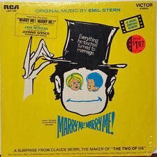 """Marry Me! Marry Me! Original Soundtrack 1969 RCA Victor 12"""" 33 RPM LP (NM)"""