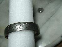Vintage Sterling Silver Heavy  Bracelet By Craftmere