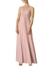 Phase ocho 14 Rosa Vestido Maxi Nuevo con etiquetas-Boda Dama de honor,