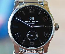 Montblanc Timewalker Auto Big Date Steel on Bracelet Black Dial RETAIL $4,660