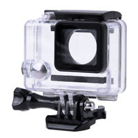 GoPro Hero 3/3+/Hero 4 Underwater Waterproof Dive Case Housing Transparent Stand