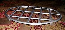 Dessous de plat ancien vintage en aluminium 18,5 × 23,5 cm 4 pieds bon état