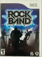 Rock Band Wii Complete With Manual - Free Shipping
