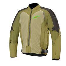 MOTO VESTE TEX Alpinestars Wake air couleur : Vert/noir taille:XL