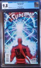 Superman (2011 3rd Series) #36 Romita Jr Variant CGC 9.8 1:100