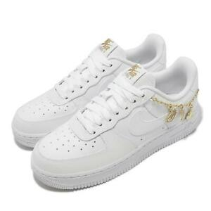 Nike Wmns Air Force 1 07 LX AF1 Lucky Charms White Gold Women Casual DD1525-100