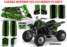 AMR RACING DEKOR GRAPHIC KIT ATV YAMAHA BANSHEE YFZ 350 CONSPIRANCY B