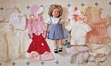 """18"""" Vintage IDEAL SHIRLEY TEMPLE DOLL, with Additional Clothing"""