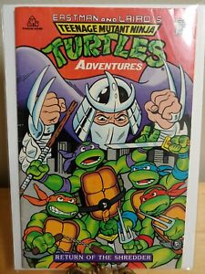 Eastman and Laird's TMNT Adventures Return of the Shredder (1988)