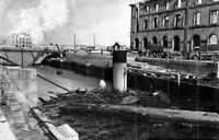 7x5 Gloss Photo ww4D3 Normandy English Channel Cherbourg 1944 140