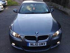 BMW 3 SEREIS 320I CONVERTIBLE GREY, AUTOMATIC, M SPORT ,NEW MOT AND SERVICE,