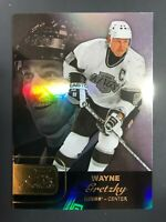 2015-16 Fleer Showcase Wayne Gretzky #35 Kings