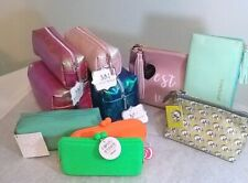 Cosmetic Purse Bag Change Purse Make Up Zippered Case Pouch YOU CHOOSE most NWT