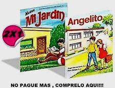 LIBROS MI JARDÍN Y ANGELITO, Ángel Díaz De Cerio