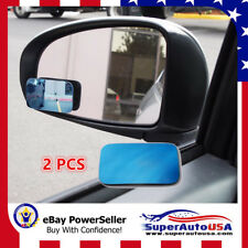 Blue Car Blind Spot Wide 360 Rotation Convex Rear View Safety Mirror for Ford